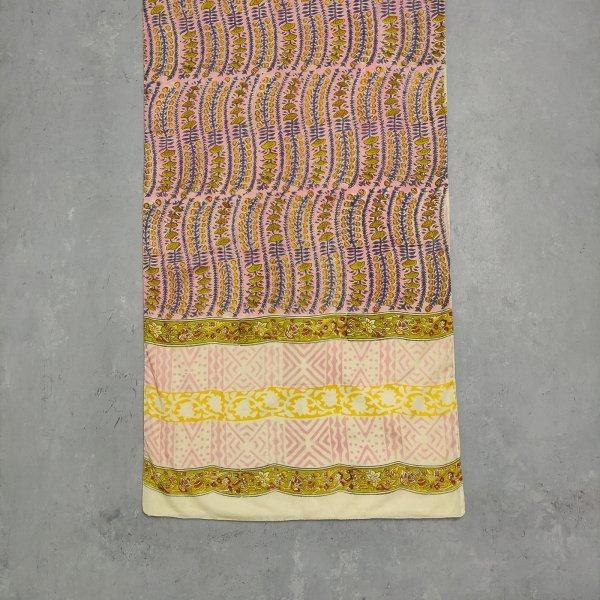 Handblock Printed Multi Colour Stole WST46