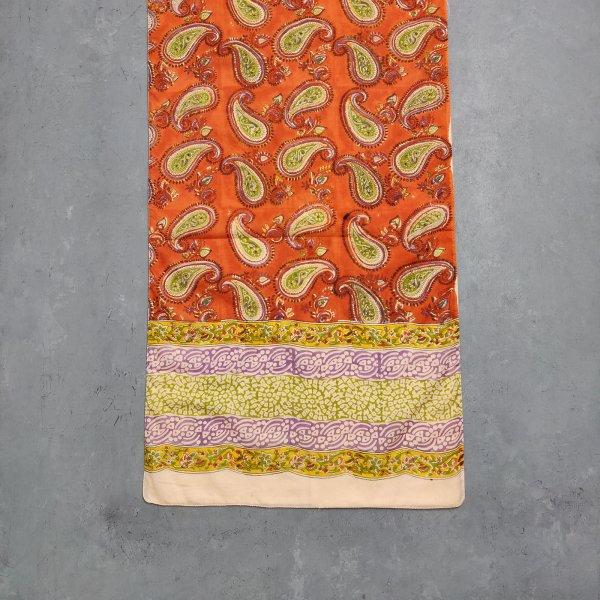 Handblock Printed Multi Colour Stole WST58