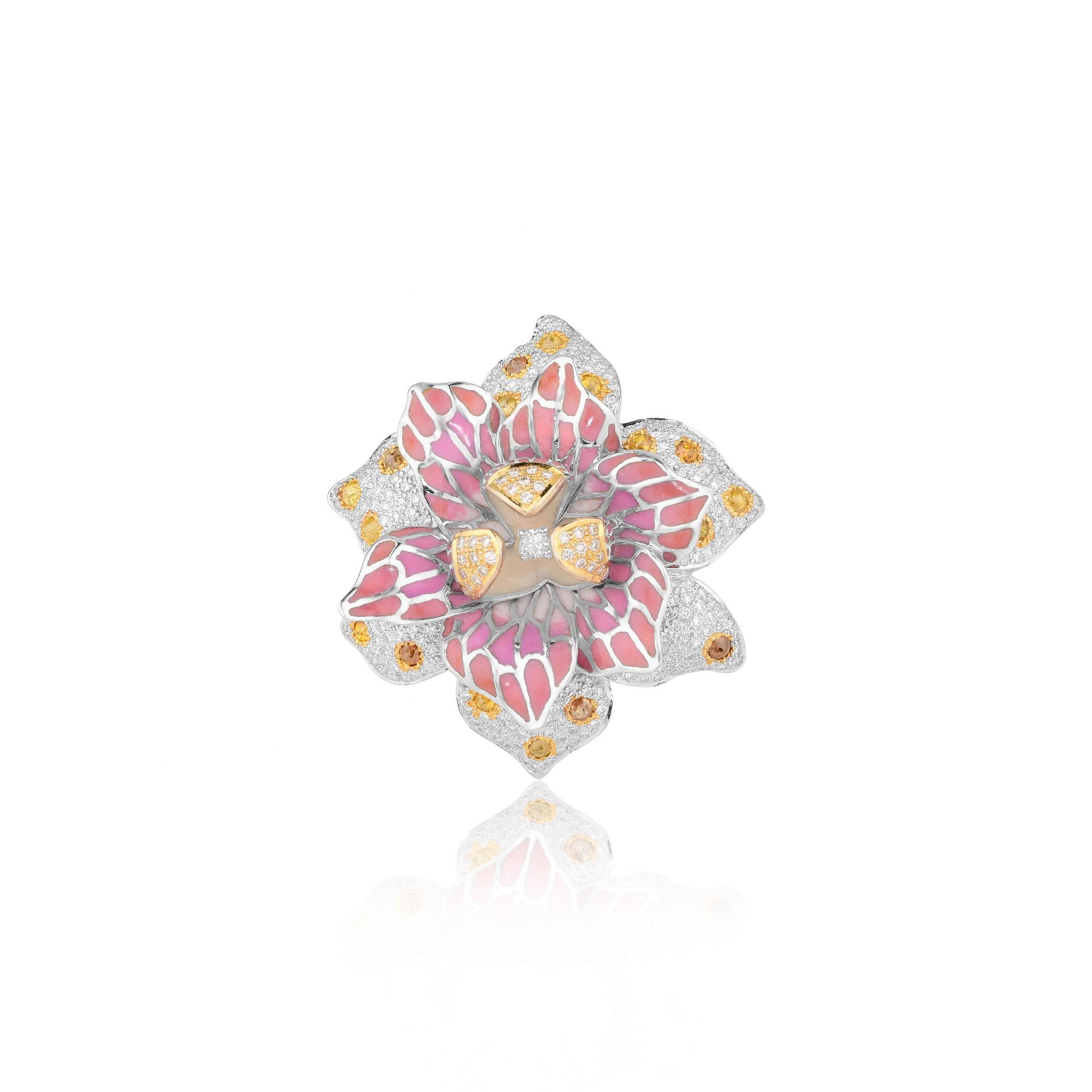 STARRY NIGHT ORCHID RING