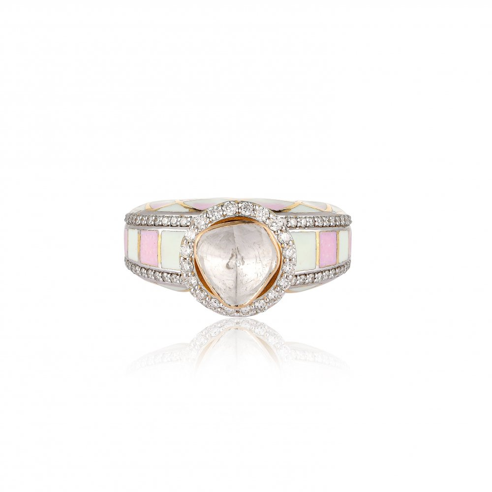 PLAY OF PASTELS RING