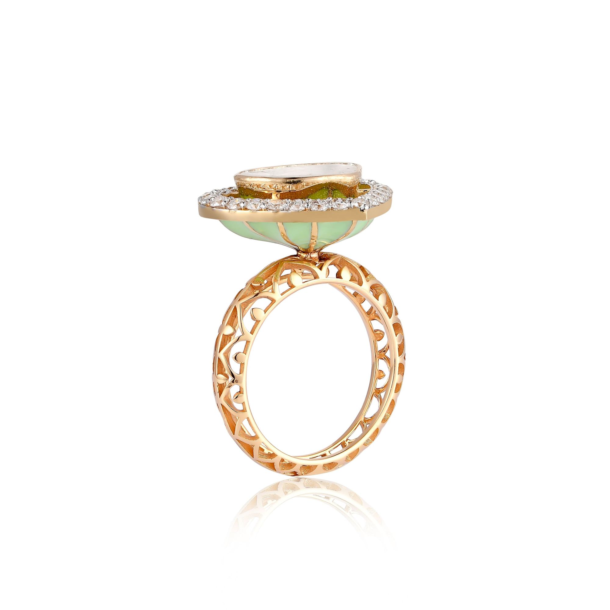 INTIMATE HEART RING