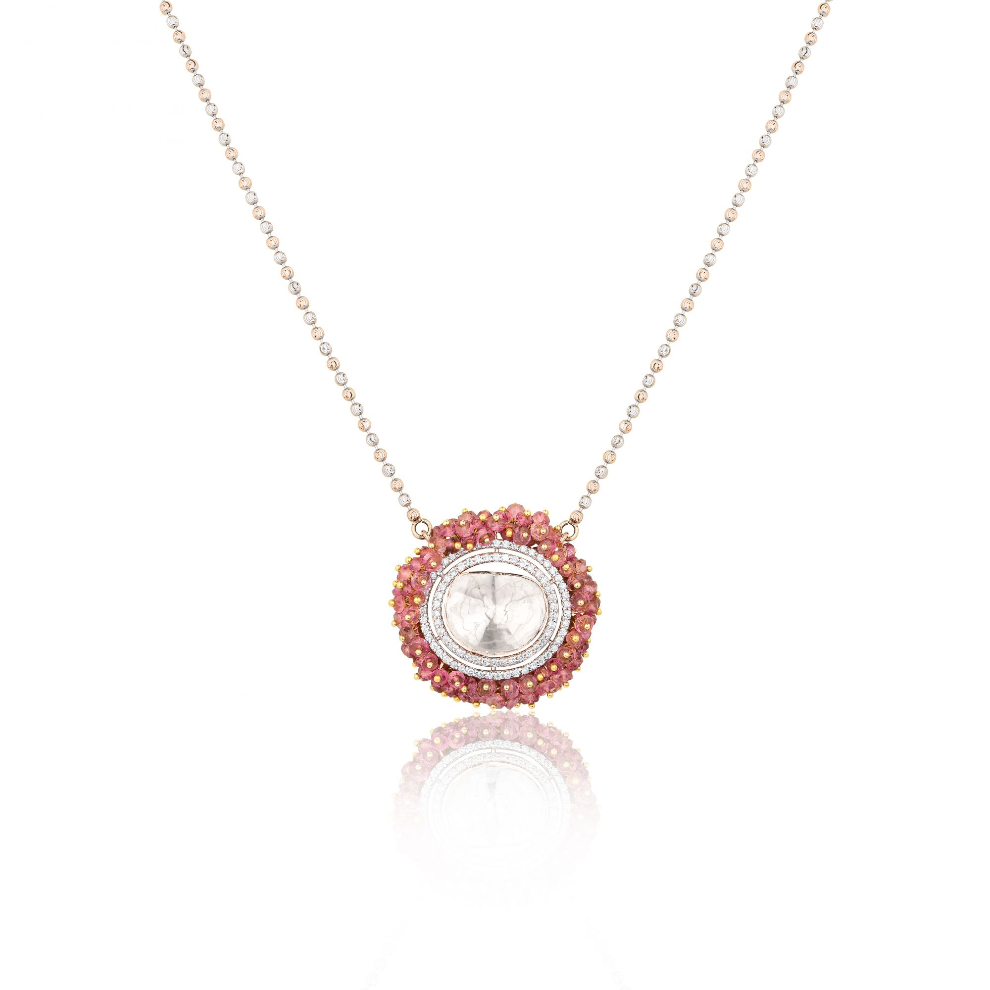 CLUSTER OF HAPPINESS PENDANT CHAIN