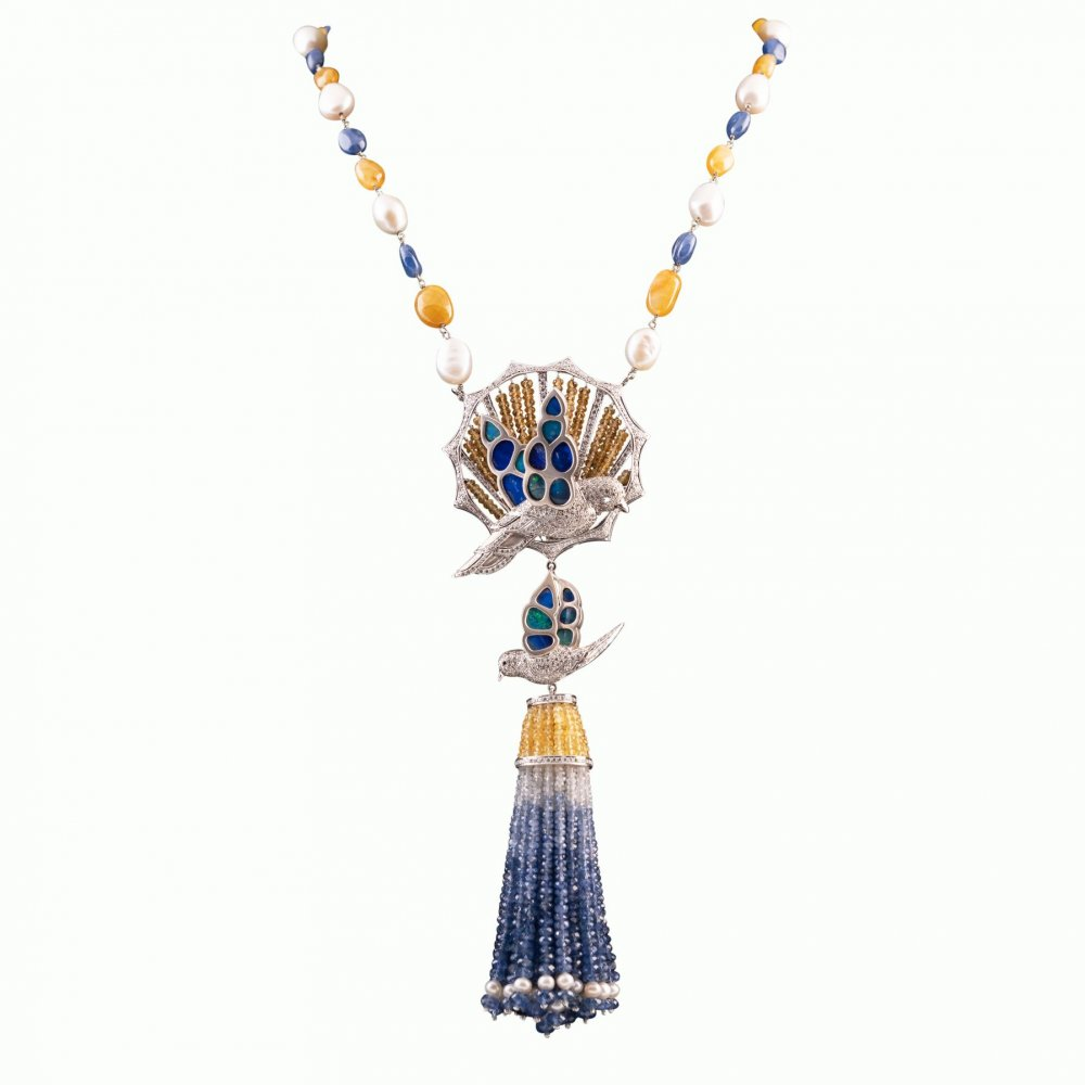 COLOURFUL FOUNTAIN NECKLACE