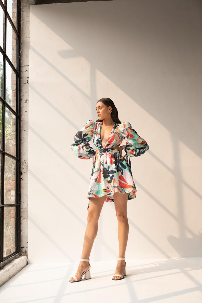 Aloha Short Dress