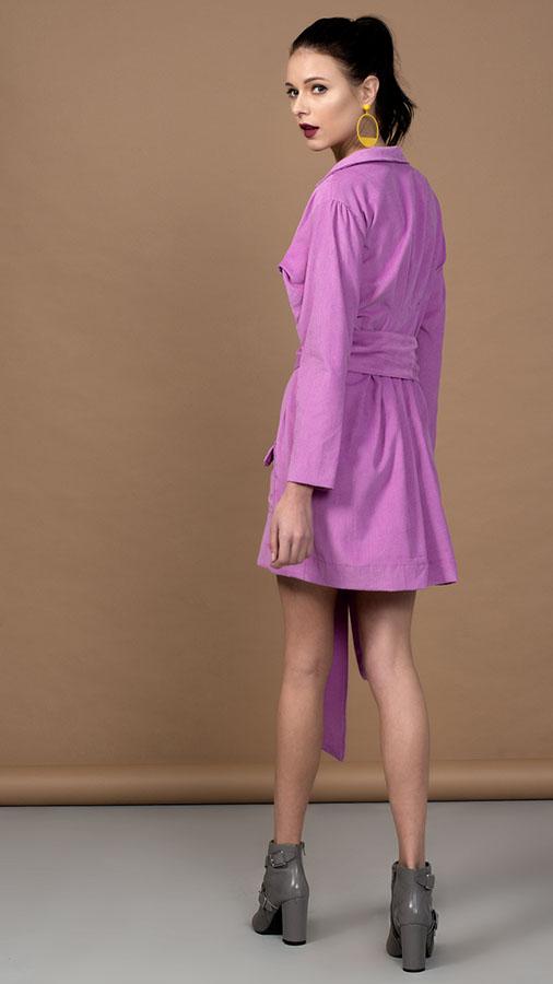 Purple Corduroy Jacket