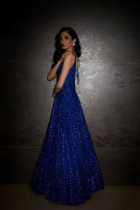 Electric Blue Gown