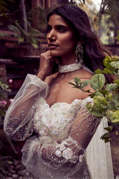 Pastel Sequins Gown