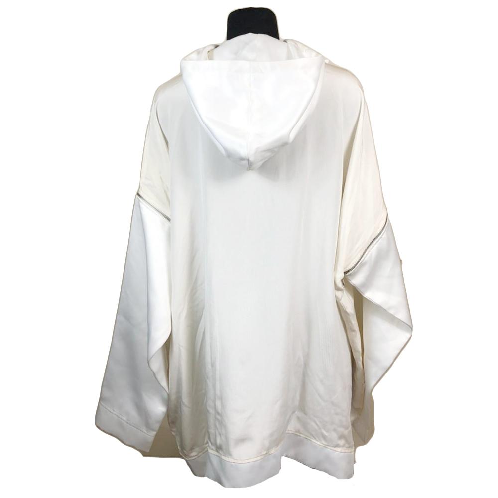 White Hood Dress
