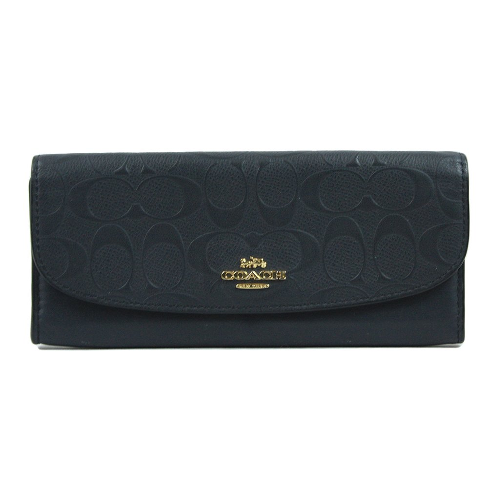 SOFT WALLET IN SIGNATURE LEATHER