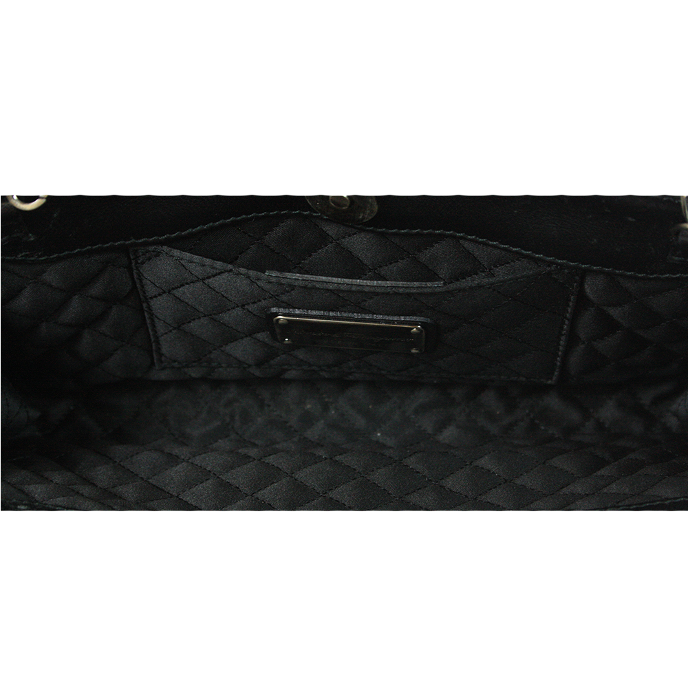 Black Leather Purse.