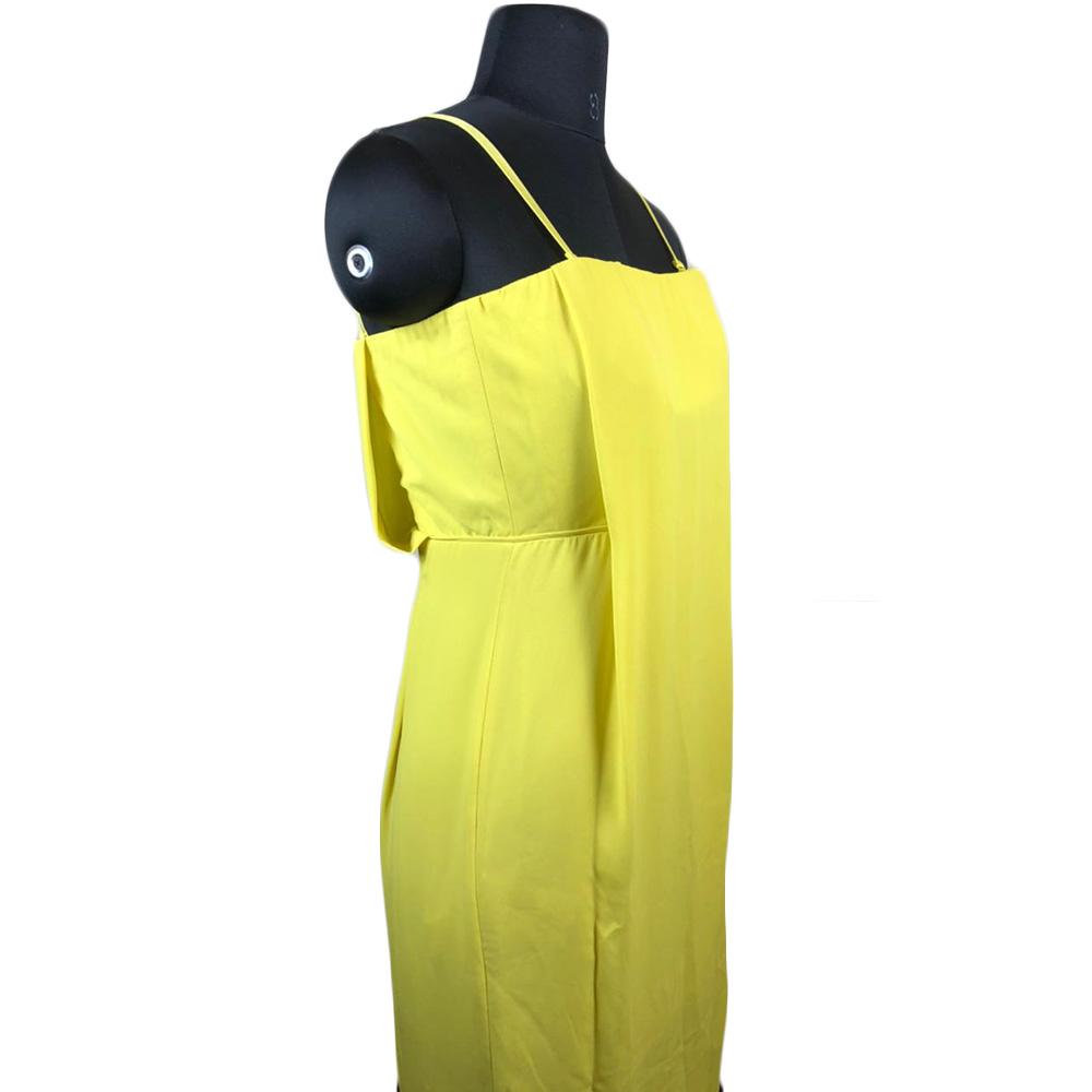 BCBG MaxAzria Yellow Jesse Dress