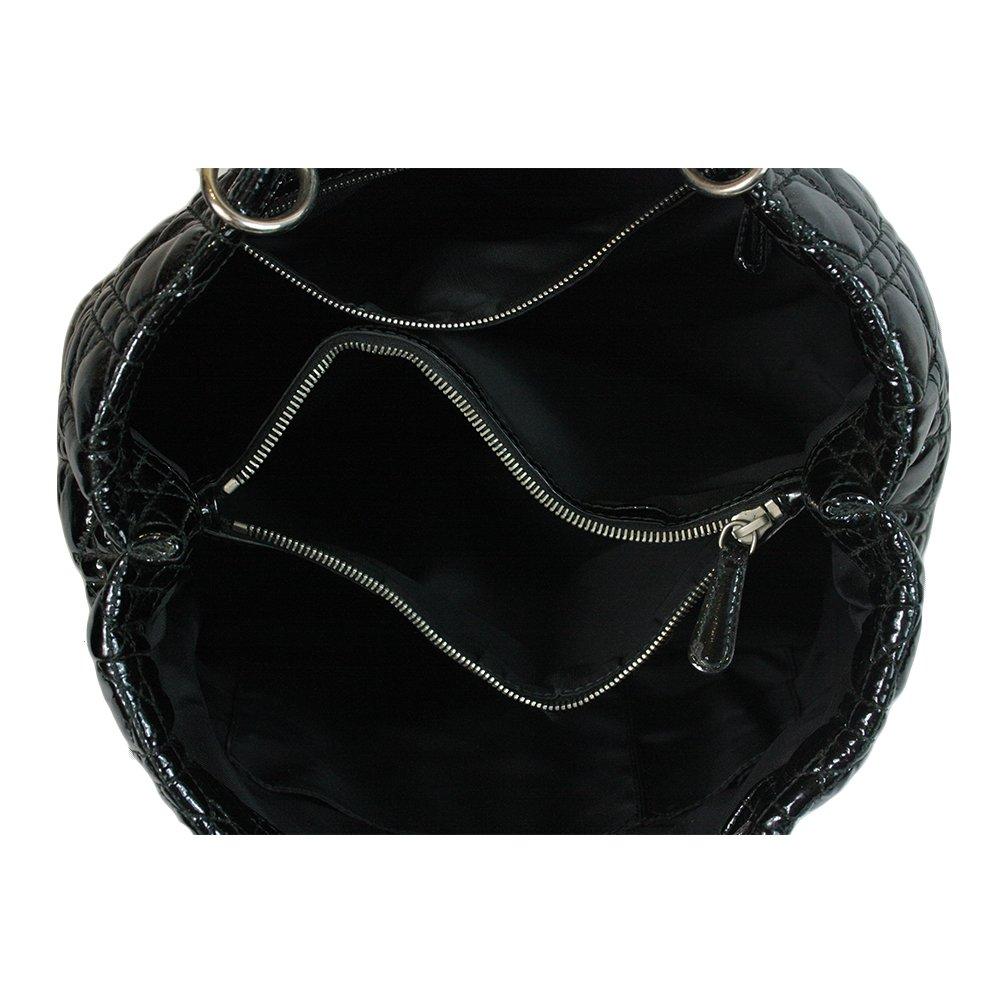 Black Dior Soft Tote Bag