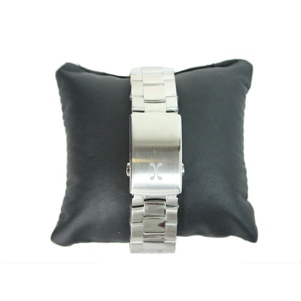 White Stainless Steel Force Quantum Men's Wristwatch