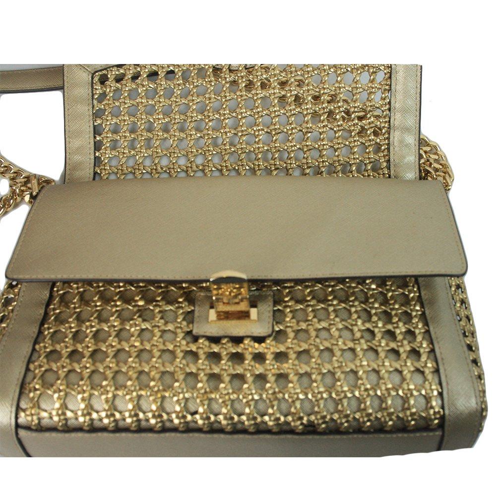Gold Metallic Chain Mail Paris-Edinburgh Small Bag