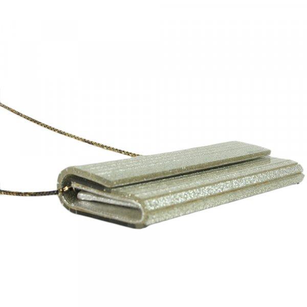 Sweetie Silver  clutch