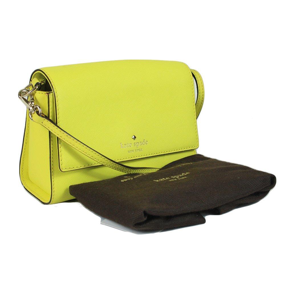 Neon Lime Flap Chain Bag