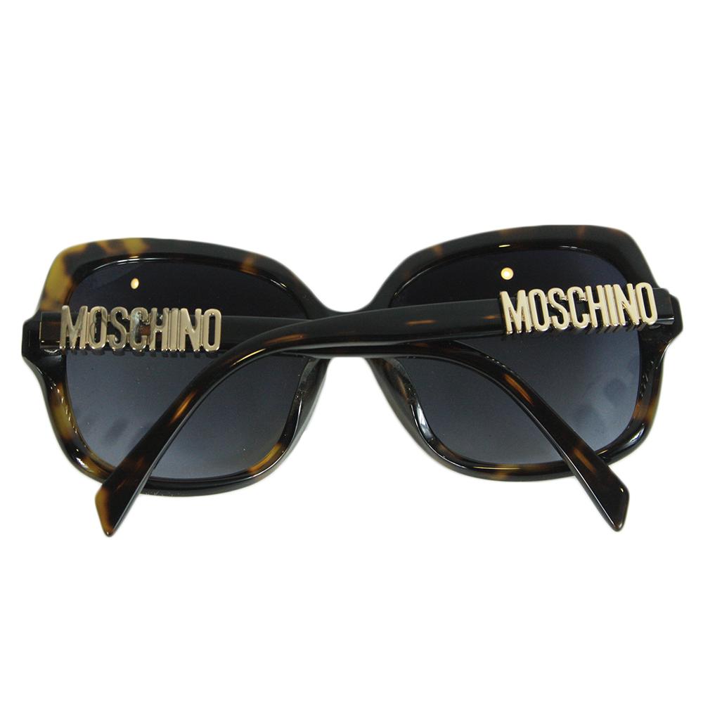Moschino Women's Logo Full Rim Sunglasses