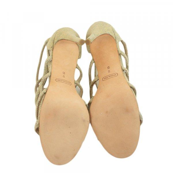 Coach Golden Heels Size - 9B