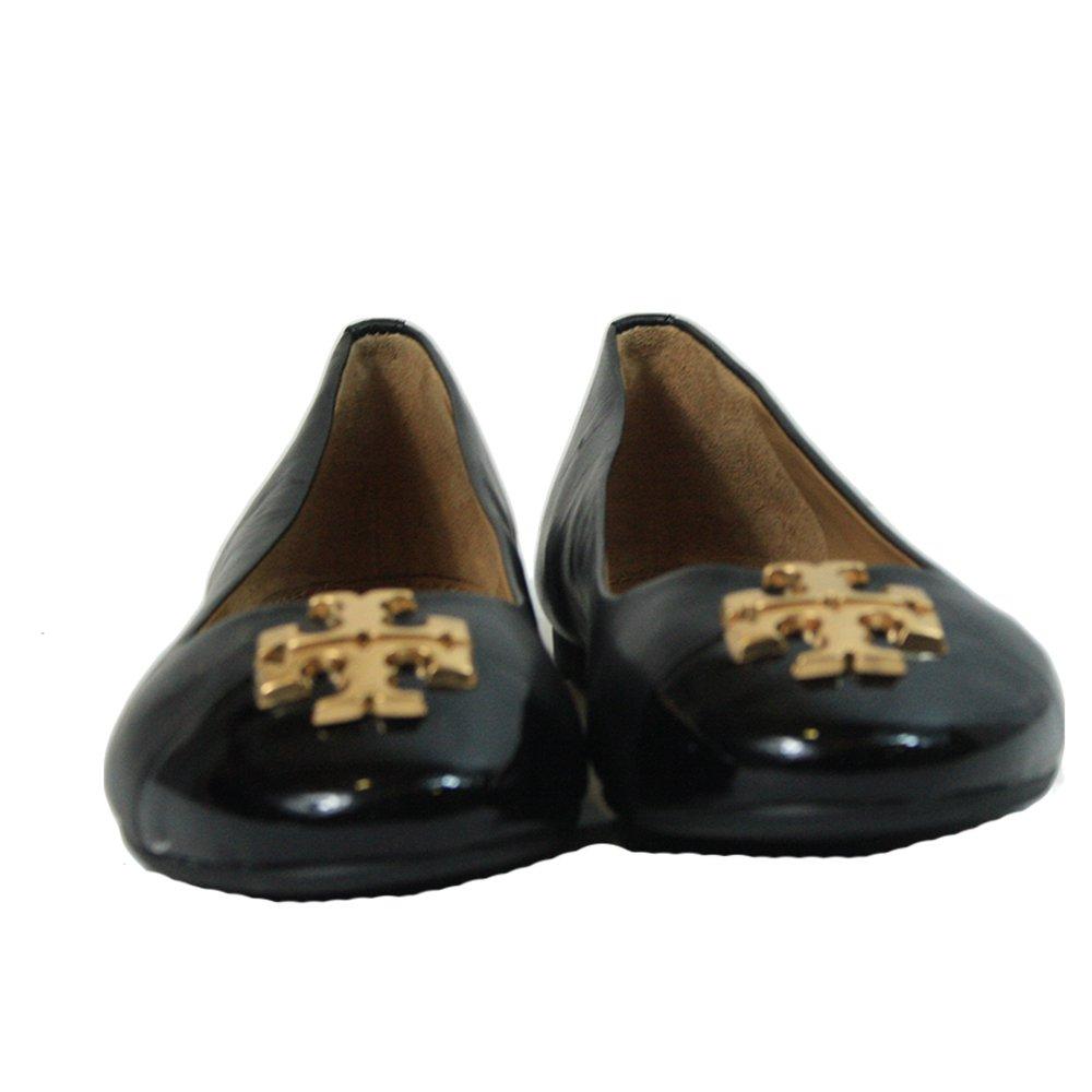 Everly Cap Toe Ballet Flats Black Size - US 7.5