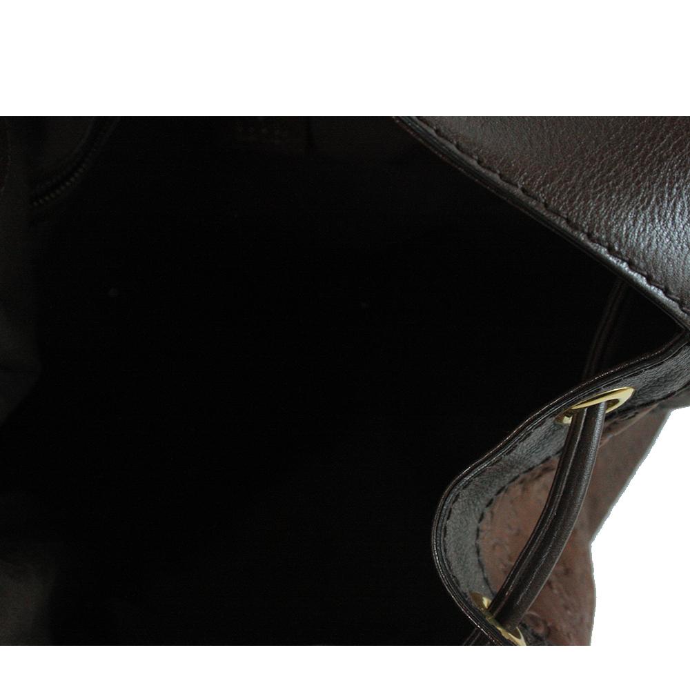 Guccissima Leather 'Interlocking Icon' Drawstring Hobo