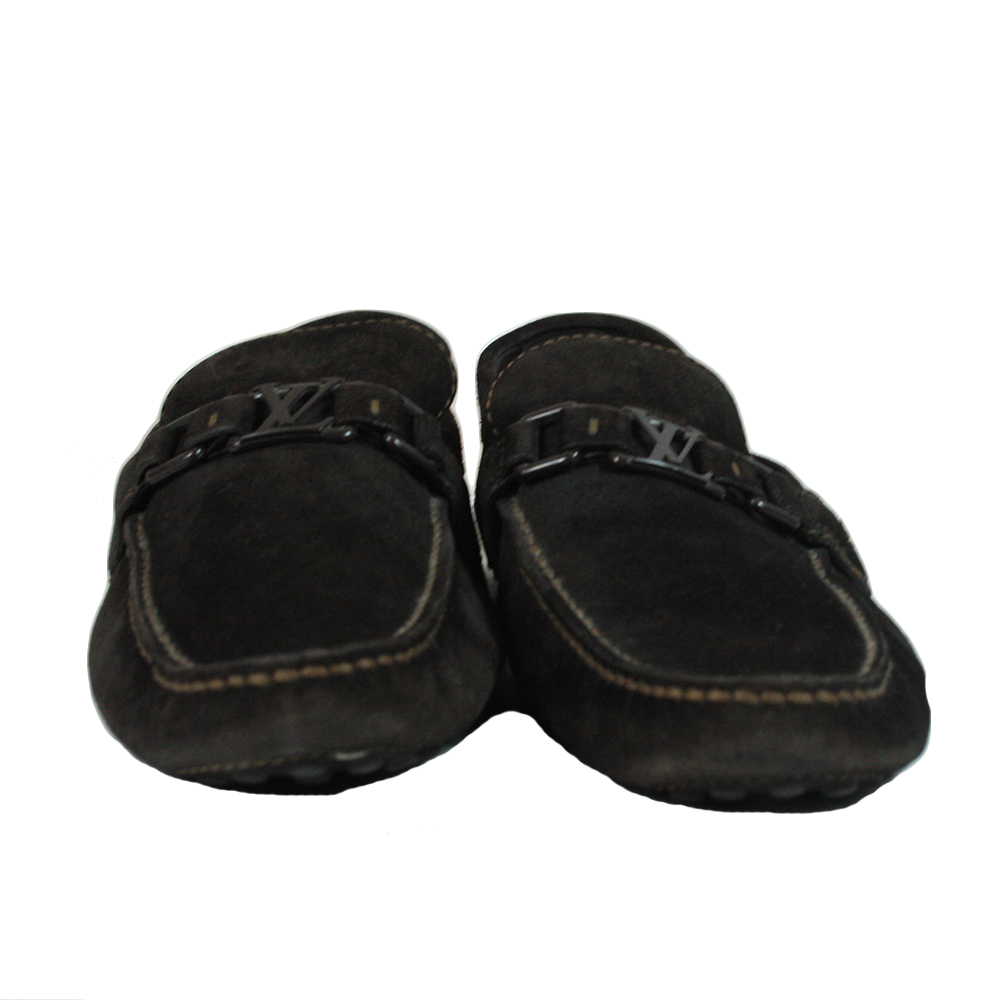 Black Initial Loafers Size - 9