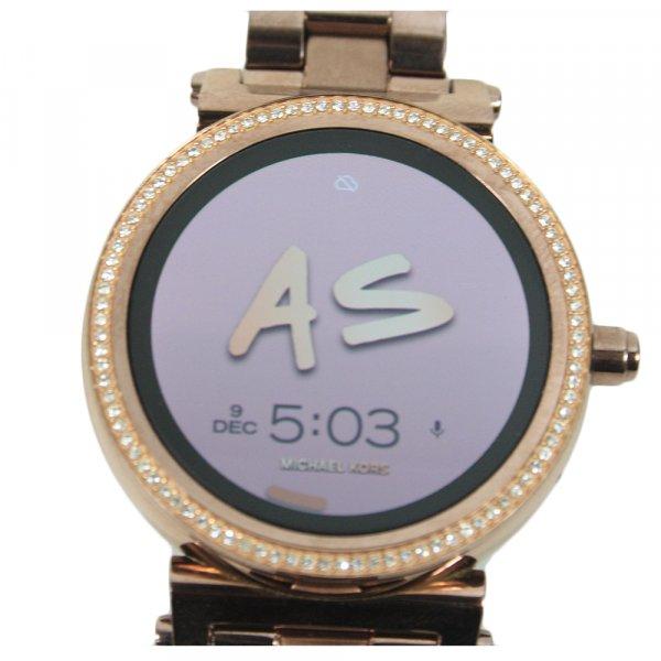 Rose Gold Steel 316 L Digital Quartz Woman Watch