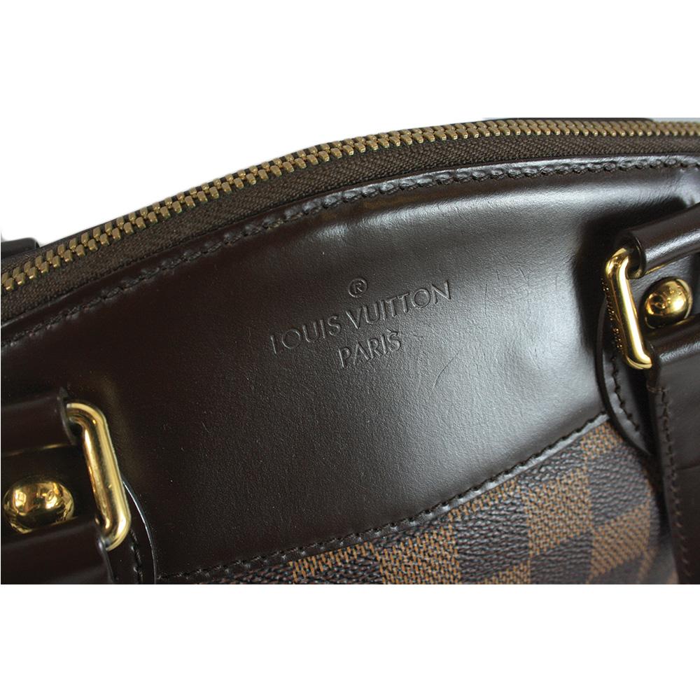 Damier Ebene Canvas Leather Verona PM Bag