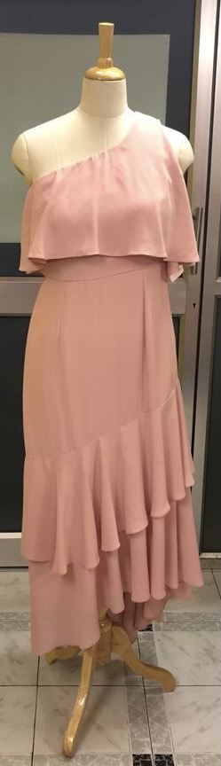 One shoulder gown (Size M)
