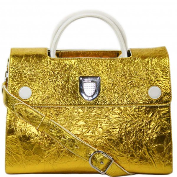Crinkle Patent Leather Diorever Bag