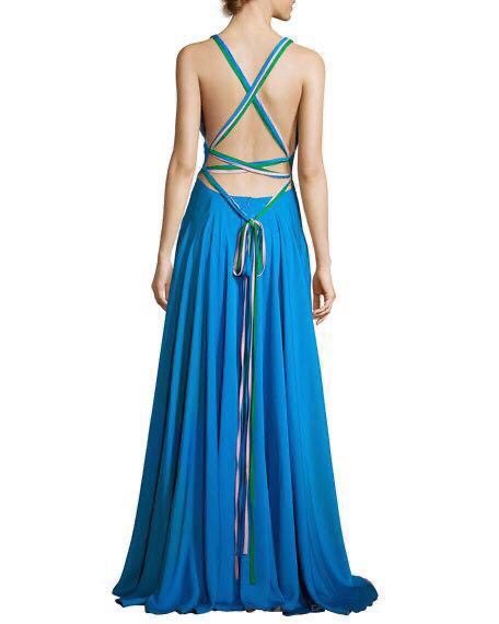 Tube gown with pleats (Size S)