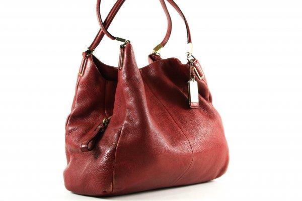 Hadley Marron Leather Hobo