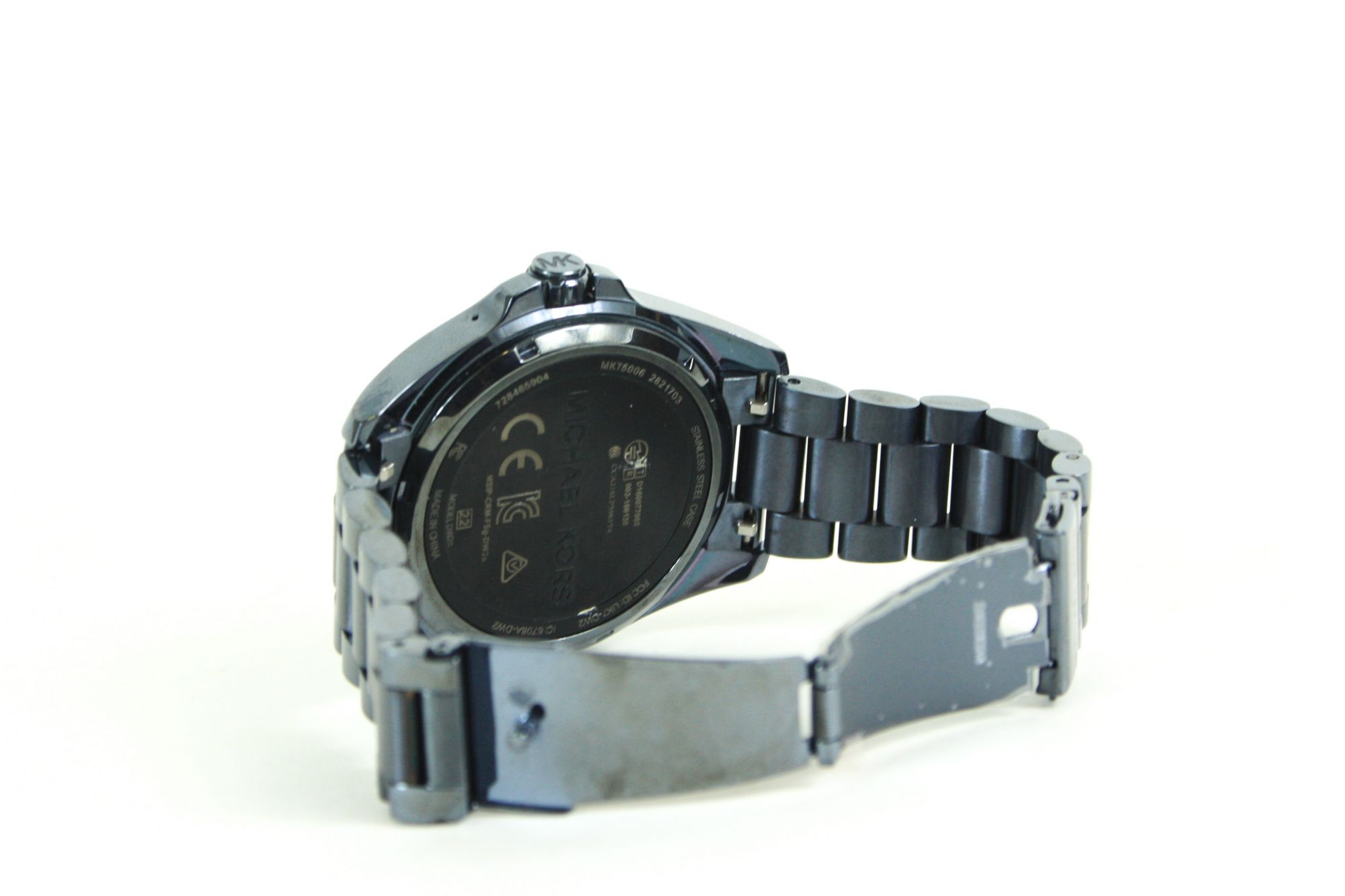 Digital Black Dial Women's Watch - MKT5006