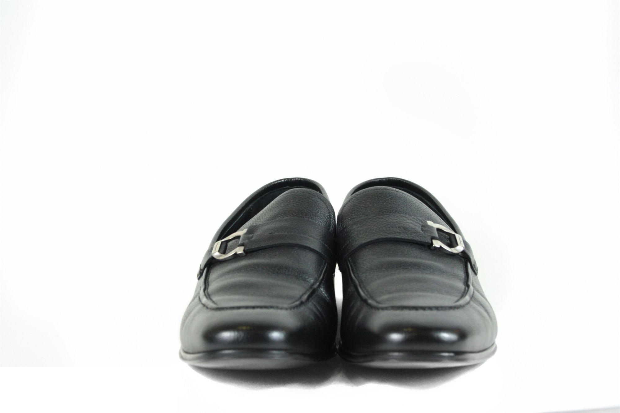 Black Gancini Loafer, Size- 8.5