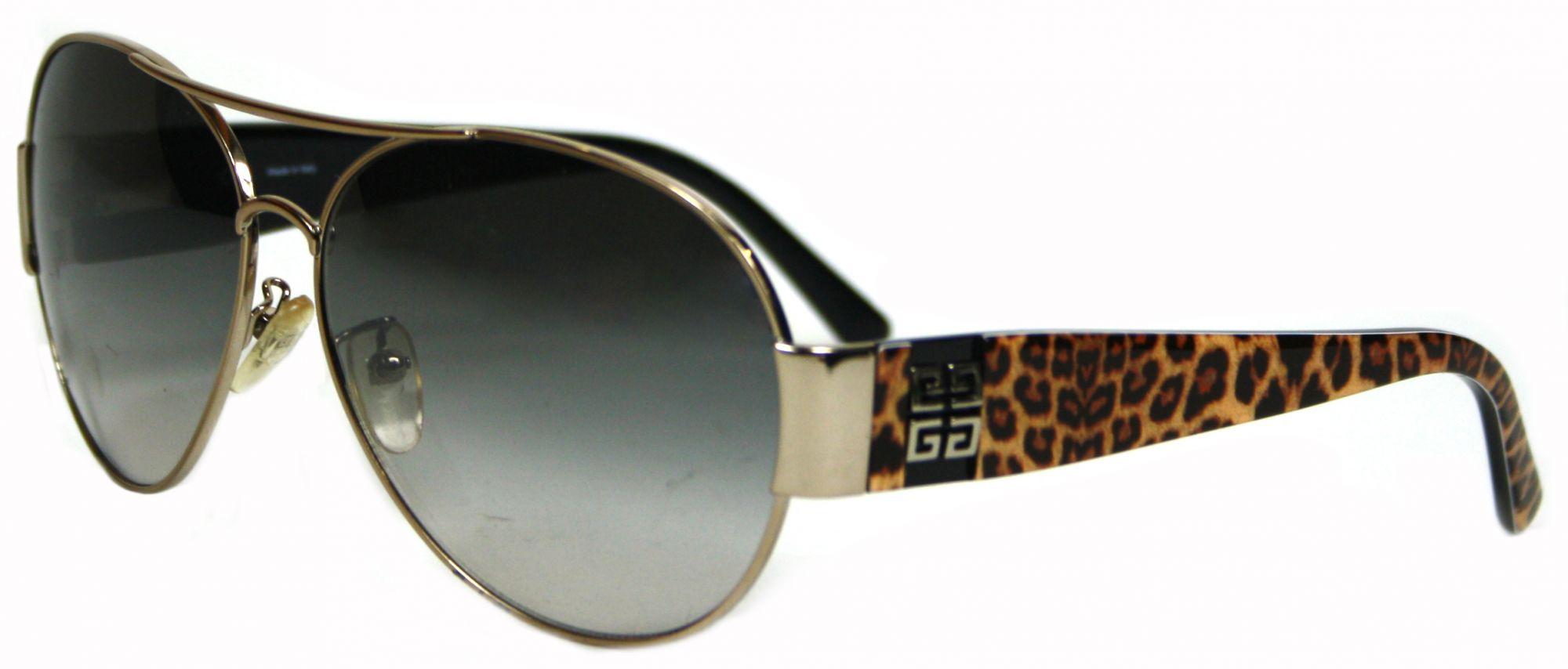 Police Design Leopard Print Sunglasses