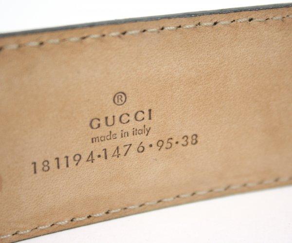 Black Leather Belt (Size : 38)