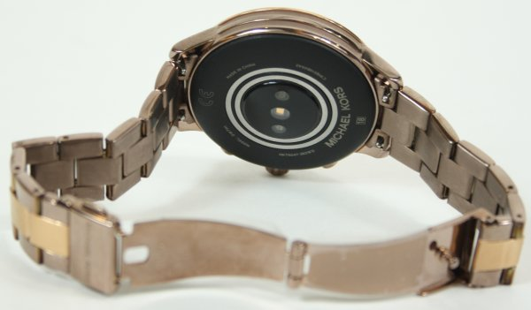 Gold Tone Acetate Smartwatch