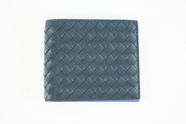 Intrecciato Weave Bifold Wallet