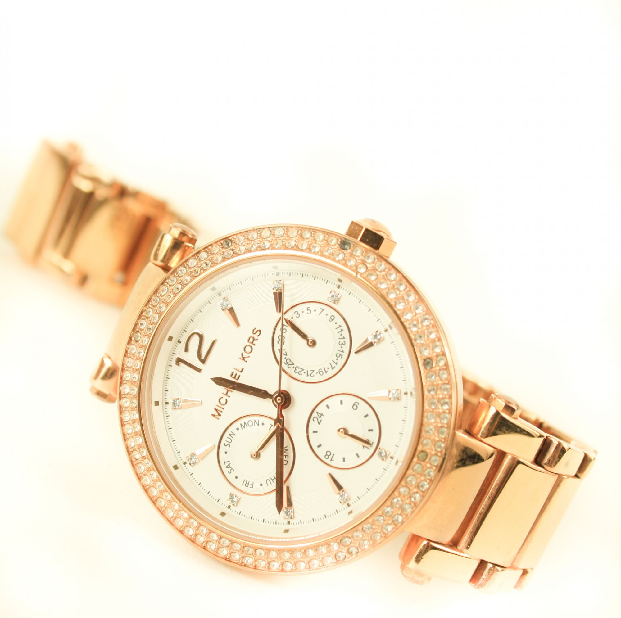 Women's Parker Rose Gold Tone Stainless Steel Watch
