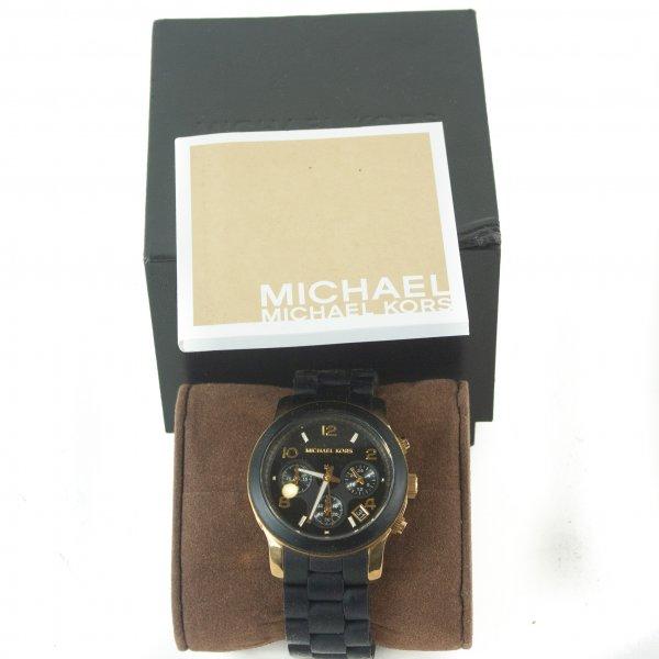 Black Catwalk Chronograph Watch
