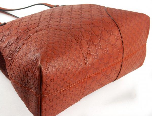 Guccissima Bree Shoulder Bag Orange