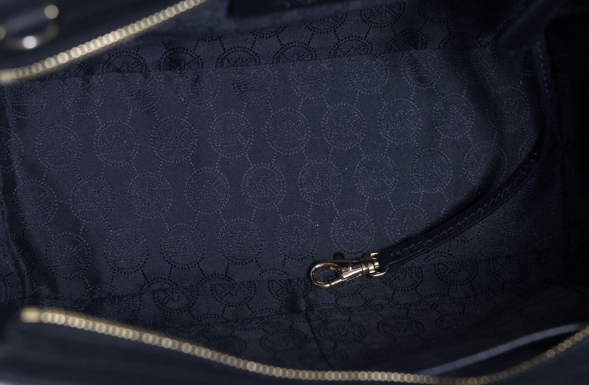 Carmen Black Tote Bag
