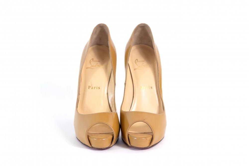 Beige Heels 38