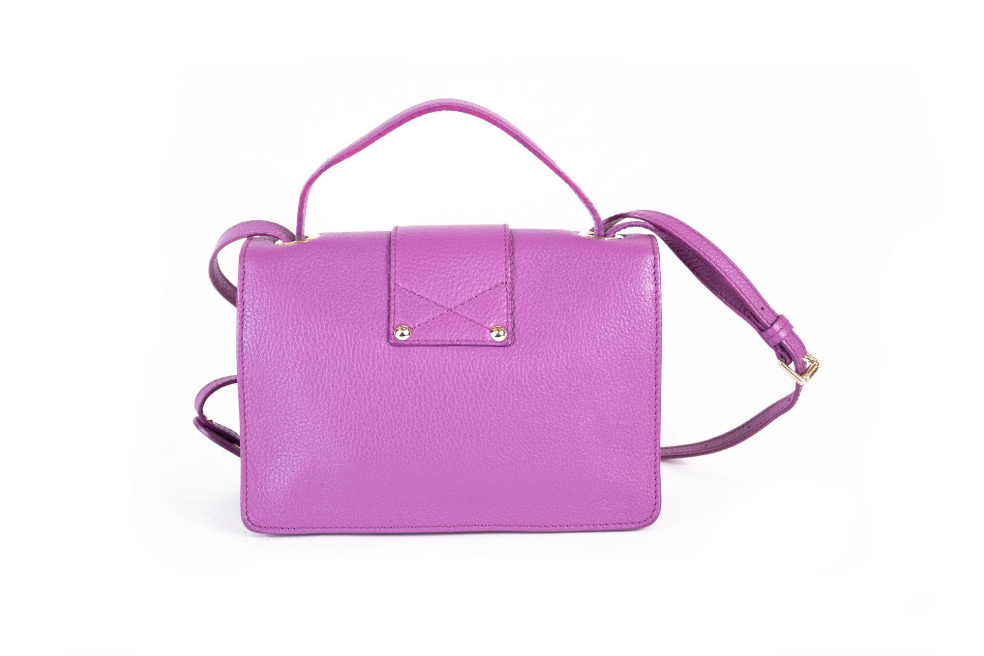 Purple Crossbody Bag