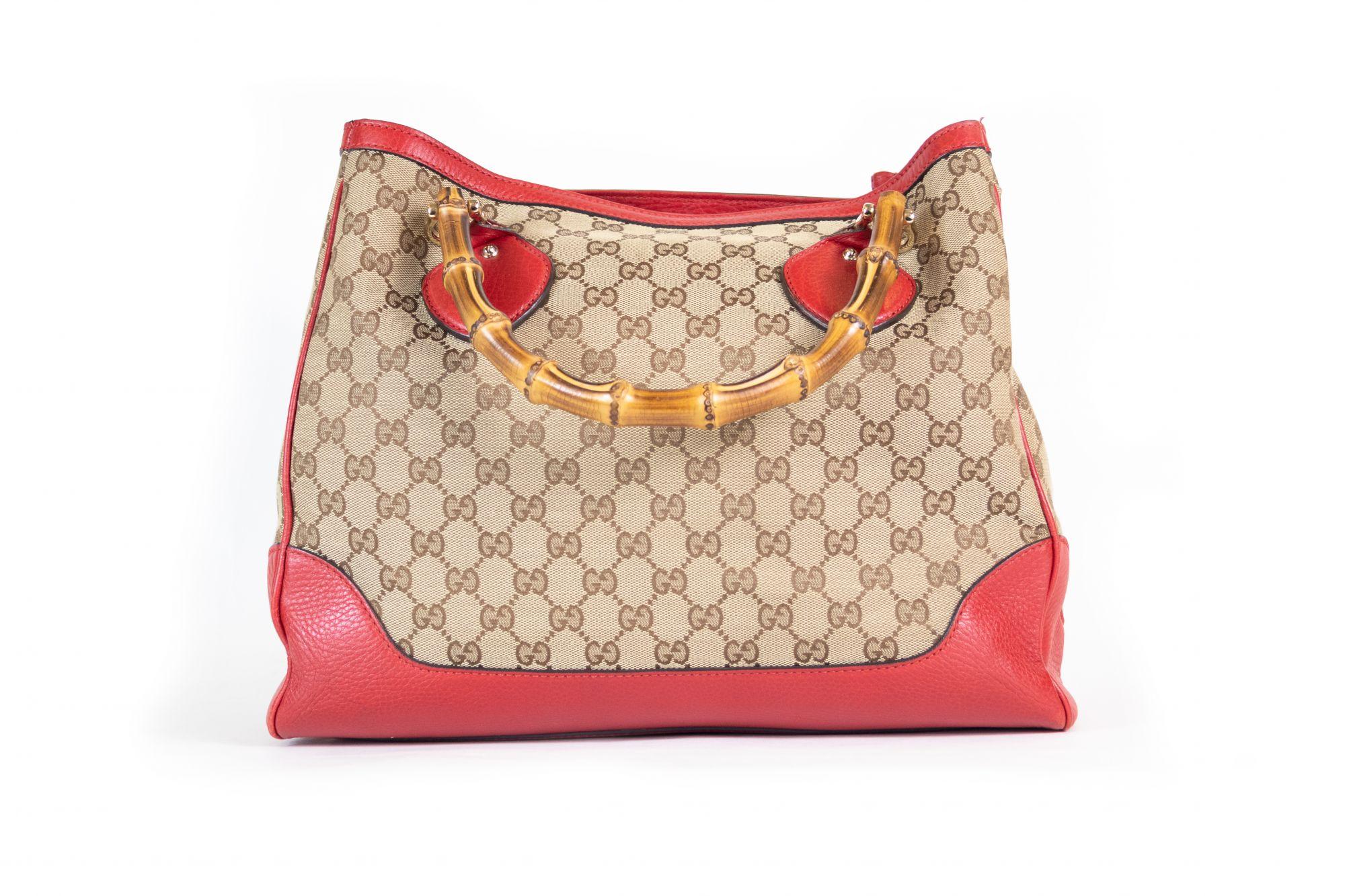 Diana Bamboo Shoulder Bag