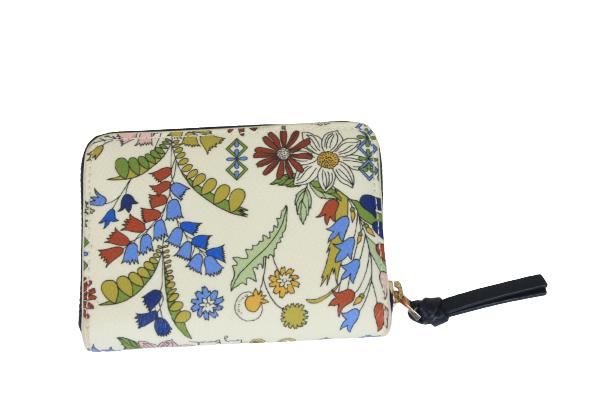 Floral Print Wallet