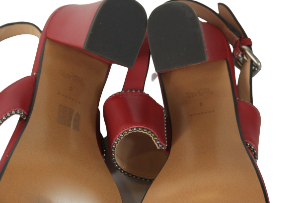 Cherry Red Rylie Sandals - Size 9