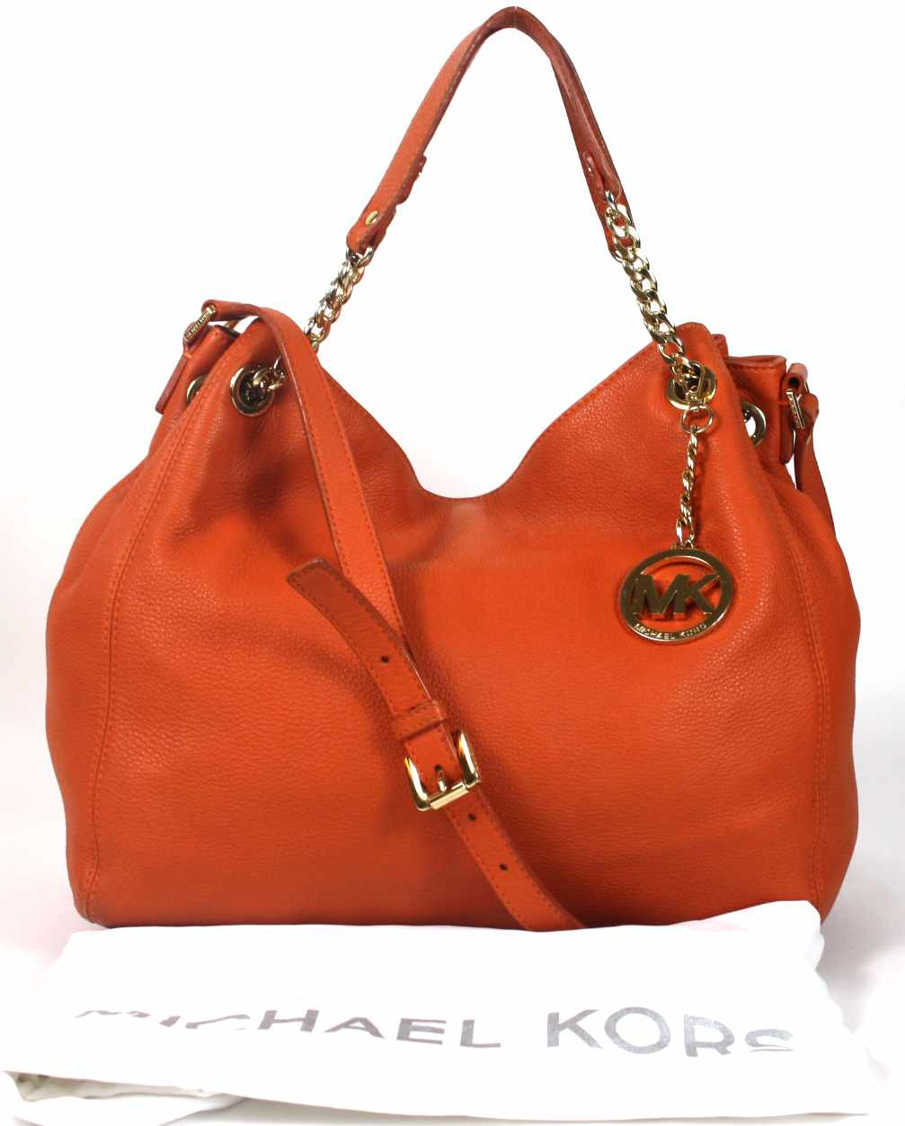 Jet Set Chain Leather Tote