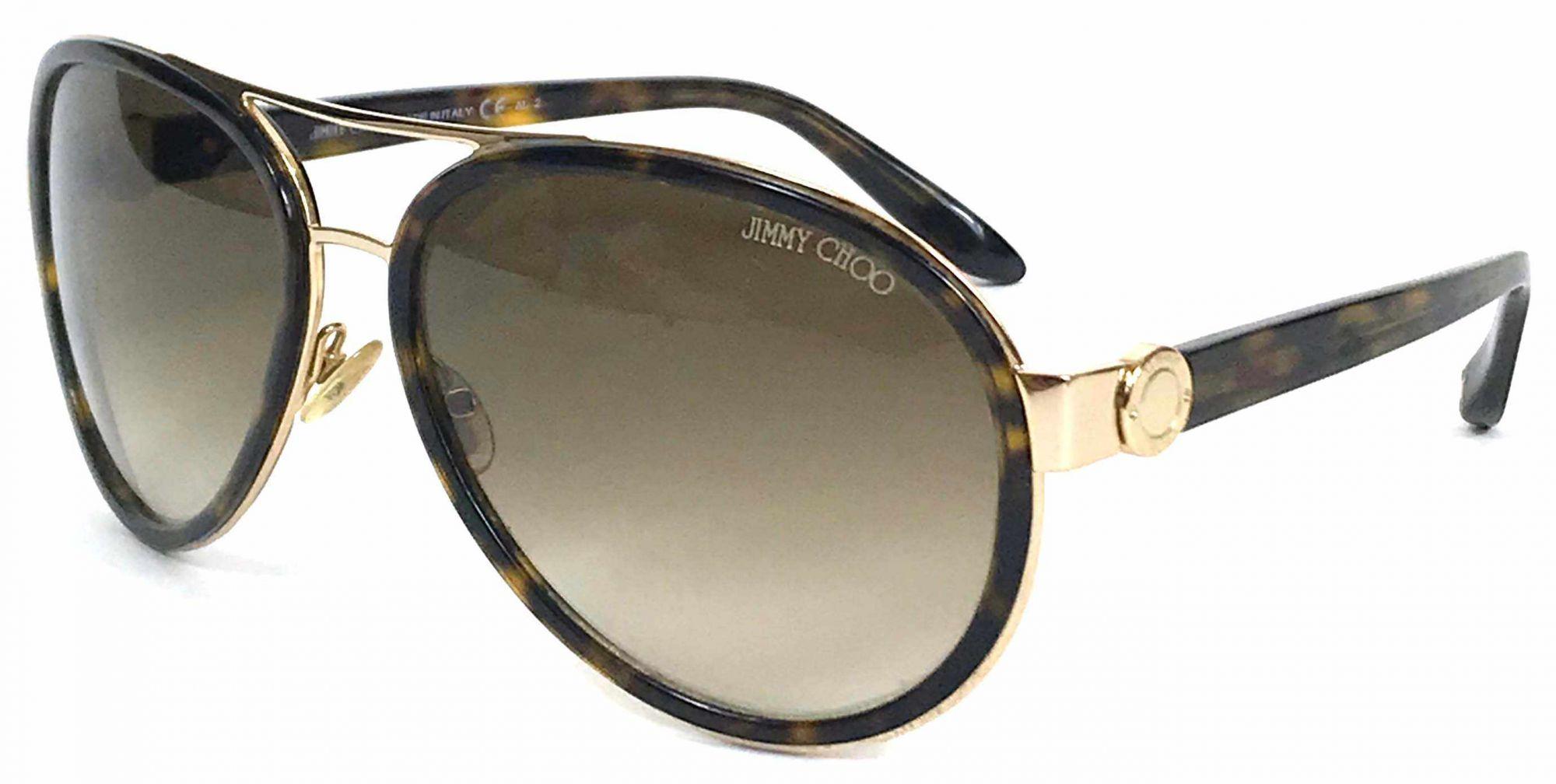 Jimmy Choo Aviator Sunglasses