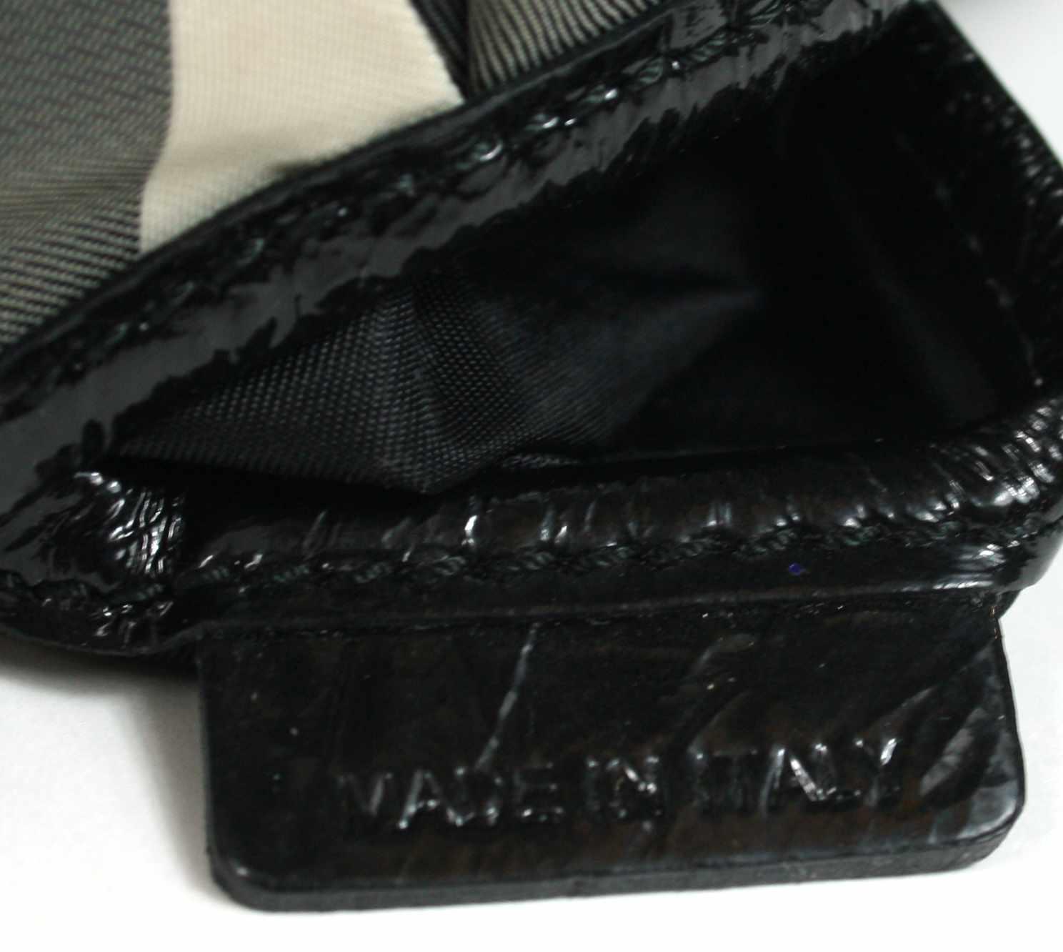 Novacheck Black Trimmings Brooklyn Hobo Bag