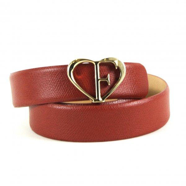 """Heart Buckle Belt  36"""""""